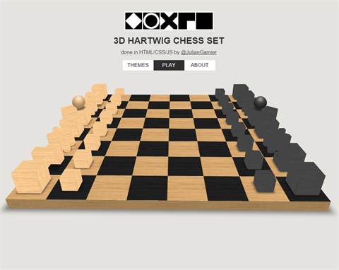 3D Hartwig Chess Set Master